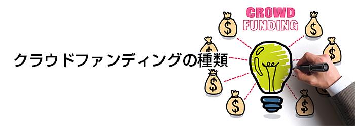 クラウドファンディングの種類